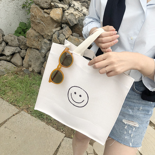 (MADE BY SONG) 스퀘어 ECO BAG - *바로배송*